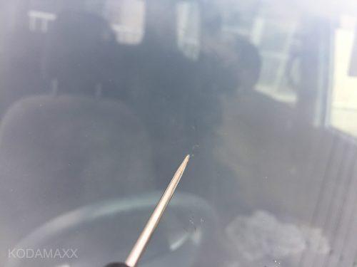 フロントガラスの傷修理