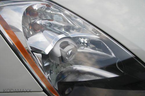 Z33のヘッドライトクリーニング