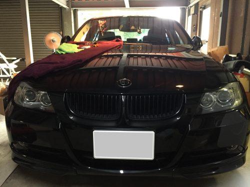 BMWのガラスリペア